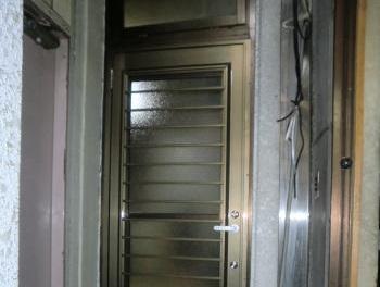 新しいドアになり、使い勝手も良くなりました!!