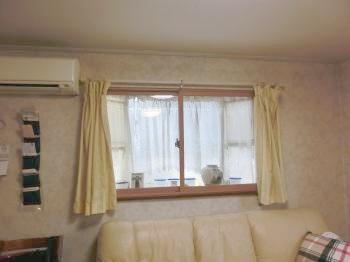 部屋の結露が以前よりも少なくなり、窓を拭く手間がなくなりました。