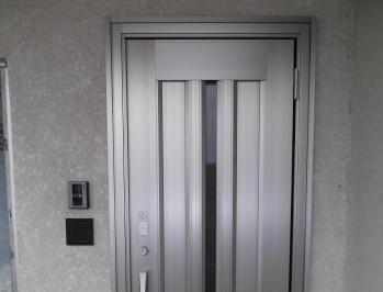 テレビドアホン付のエントリーシステムで安心の玄関に!