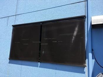 カーテンの約2倍!約99%もの紫外線をカットします!!